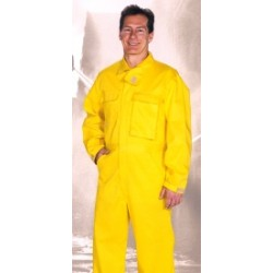 Topps C076 5648 Yellow Nomex IIIA Wildland Fire Fighting Brush Gear Coveralls