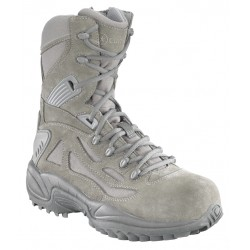 "Converse RB8990 Men's 8"" Sage Green Composite Safety Toe Side Zipper Military Tactical Boot"
