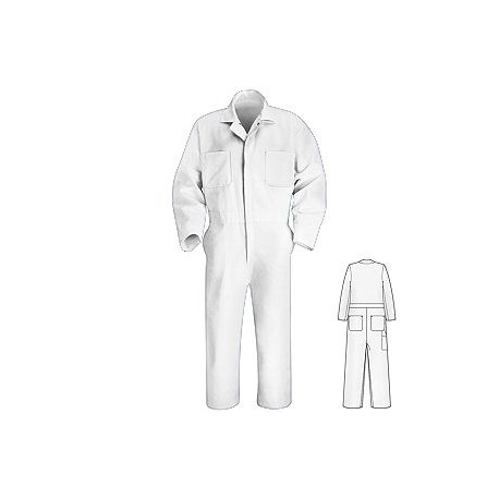 Red Kap CT10 Heavier Twill Action Back Long Sleeve Coverall