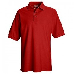 Red Kap SK72 , 6.4 oz. Pique Knit, 50/50 Poly/Cotton (No Pocket) Polo Shirt