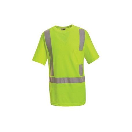 Red Kap SYK6HV, ANSI 107-2004 Class 2 Level 2 Hi-Visibility Short Sleeve T-Shirt