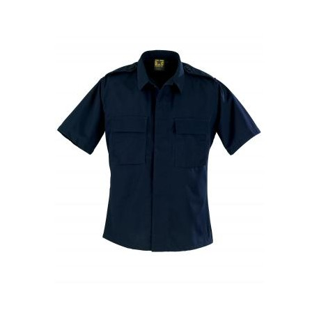 Propper F5456-38 Short Sleeve 2 Pocket Battle Rip 65/35 Poly/Cotton Ripstop BDU Shirt
