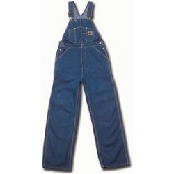 Berne B910SWD, Original Unlined Washed Denim Bib Overall