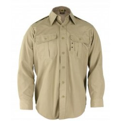 Propper F5302-38 Long Sleeve Battle Rip 65/35 Poly/Cotton Ripstop Tactical Shirt