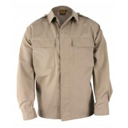 Propper F5452-38 Long Sleeve 2 Pocket Battle Rip 65/35 Poly/Cotton Ripstop BDU Shirt