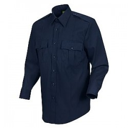 Horace Small-The Force HS1112, Men's 4.5 oz. 65/35 Poly/Cotton New Dimension Stretch Poplin Long Sleeve Shirt