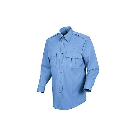Horace Small-The Force HS1150, Men's 100% Polyester Sentry Plus Public Safety (With Zipper) Long Sleeve Dress Shirt