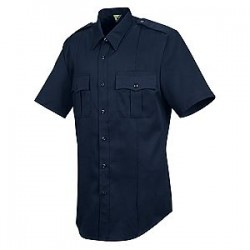 Horace Small-The Force HS1208, Men's 4.5 oz. 65/35 Poly/Cotton New Dimension Stretch Poplin Short Sleeve Shirt