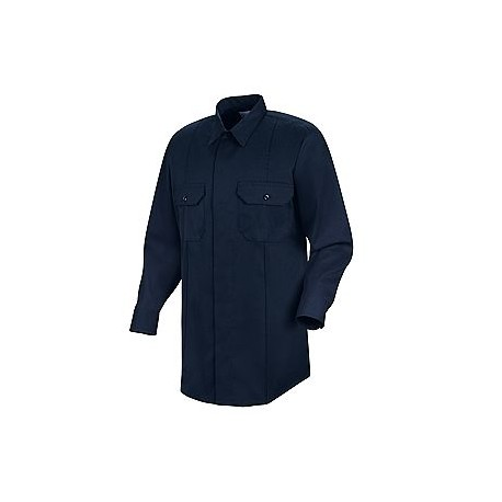 Inservice , Men's 100% Polyester Long Sleeve Police/Security Shirt