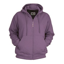 Ladies' Thermal Lined Hooded Sweatshirt