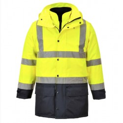 US427 Hi-Vis 7-in-1 Traffic Jacket