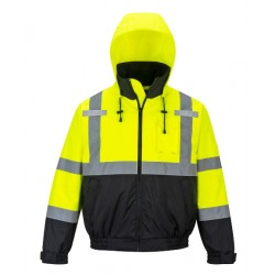 Portwest US364 Hi-Vis Premium 2-in-1 Bomber