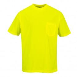 Portwest S578 Day-Vis Pocket Short Sleeve T-Shirt
