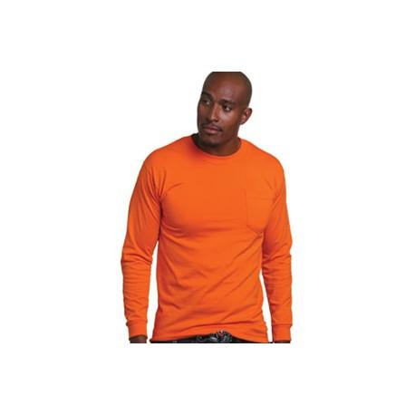 BA1730 5.4 oz. 50/50 Blend Long Sleeve Pocket T-Shirt