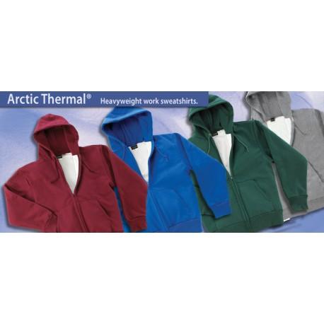 131 Arctic Thermal Zip Hooded Sweatshirt