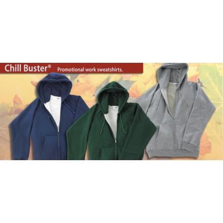 531 Thermal Hooded Zip Sweatshirt
