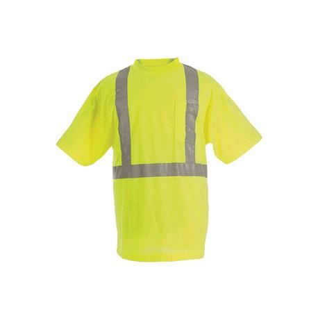Berne HVK002, Hi-Visibility Short Sleeve Pocket Tee