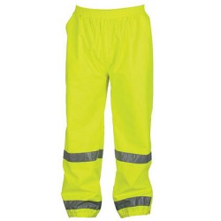 Berne HVP104YW, Hi-Visibility Safety Pant - Class E Certified