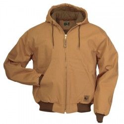"Berne HJ49, Original Hooded ""Fleece Lined"" Jacket"