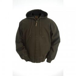 "Berne HJ373, Washed Hooded ""Thermal Lined"" Jacket"
