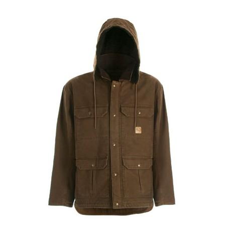 """Berne JC613, Sanded """"Fleece Lined"""" Contractor Coat"""