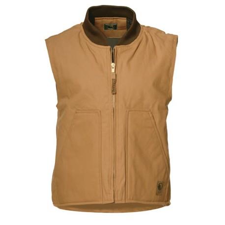"""Berne V812, """"Quilt Lined"""" Duck Workman's Vest"""