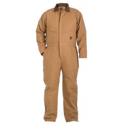Berne I417, Deluxe Insulated Coverall Quilt Lined Zip to Waist