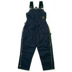 Ladies' Washed Insulated Bib Overall Zip to Waist